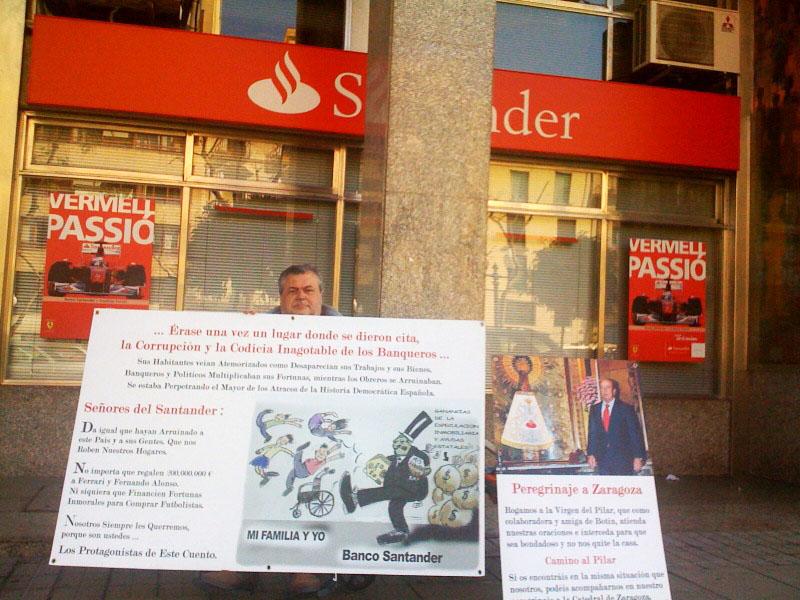 Diario de un peregrino lo est s permitiendo for Oficinas banco santander en barcelona